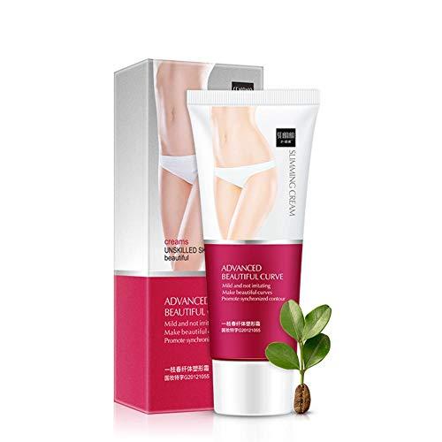 flower205 Slim Cream, Slim Extreme Cellulite Crème Amincissante et raffermissante, Gel de Massage brûlant Les Graisses corporelles