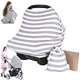 Product Image of the Carseat Canopy Cover - Baby Car Seat Canopy KeaBabies - All-in-1 Nursing...