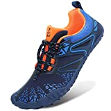 L-RUN Quick Dry Barefoot Womens Mens Water Skin Shoes for Surf Pool Swim
