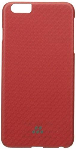 Evutec Brigantine (Rüstung) Karbon-S Serie Sleek Impact Schutz Snap Case für Apple iPhone 6Plus, rot/orange