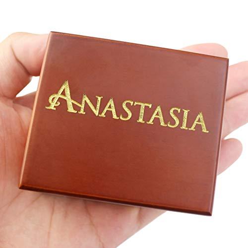 Yloung Caja De Música De Madera Hecha A Mano De Anastasia, Regalo De Cumpleaños para Navidad/Cumpleaños/Día De San Valentín Amantes