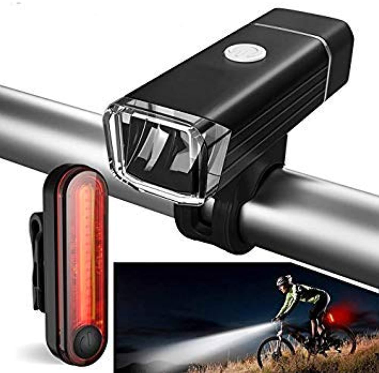 GEOPONICS BLS11 650LM German Standard Cycling Bike Bicycle Motorcycle Electiric Scooter Light Set USB