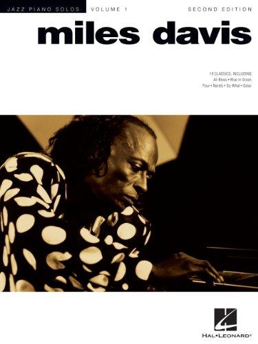 Miles Davis Songbook: Jazz Piano Solo Series Volume 1 (Jazz Piano Solos (Numbered))