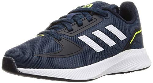adidas RUNFALCON 2.0 K, Zapatillas de Running, AZMATR/FTWBLA/Tinley, 38 2/3 EU