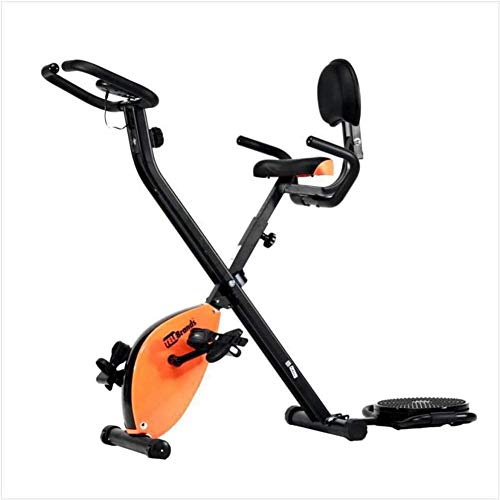 Best Price HIMFL Stationary Exercise Bike with Odo, Speed, Distance, Calorie Monitor and Scan, Magne...