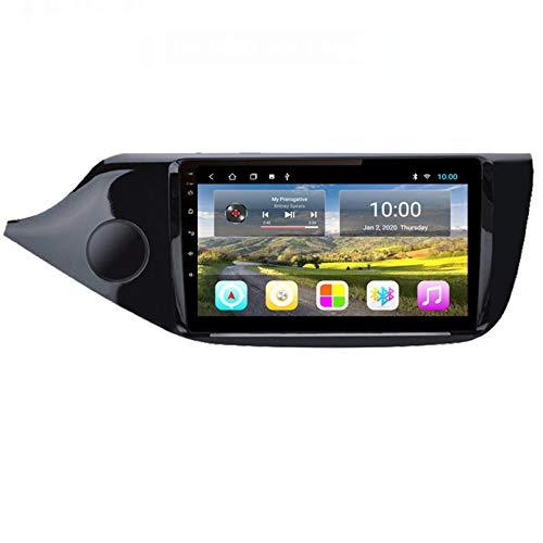 Autoradio Navigatore Satellitare FM AM Touch Screen Navigatore GPS Supporto Controllo Volante Bluetooth WiFi Player Supporto GPS USB SD Adatto per Kia CEED 2013-2015(Color:WiFi 2G+32G)