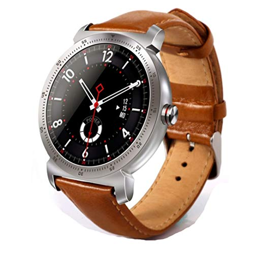 Oupeng K88H Plus Smart Watch hartslagmonitor fitness tracker smartwatch (zilver)