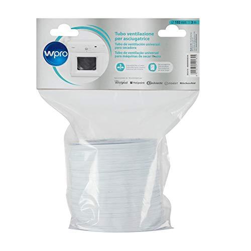 Wpro ASG310 C00380132 Tuyau flexible en PVC pour système de ventilation