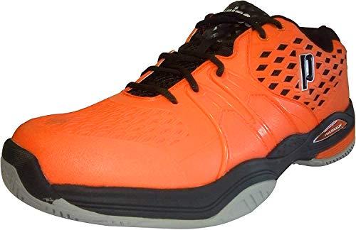 Prince Warrior, Scarpe da Tennis Uomo Colore: Arancione/Nero (all Court); Taglia: EUR 41.5 | US 8.5 | UK 7.5