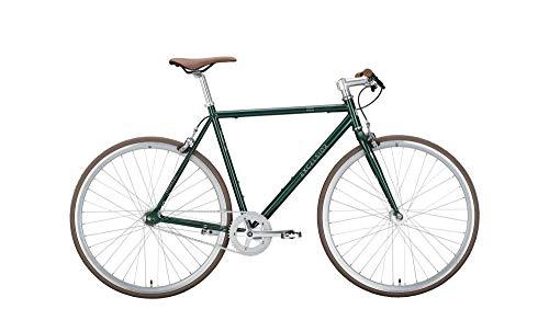 RennMaxe : Rennrad Fixie Excelsior Dandy 28 - Ponderosa Green - RH 52 - Vintage Nostalgie Retro Fahrrad Herrenrad