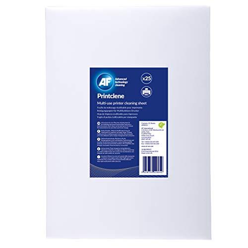 AF PRI025Printclene 25Blatt Laser Drucker & Fax Reinigung