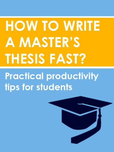 How To Write A Dissertation Or Masters Thesis