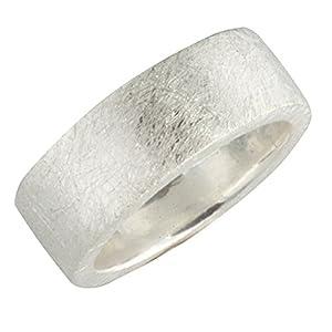 massiver Silberring hochwertige Goldschmiedearbeit aus Deutschland (Sterling Silber 925 anlaufgeschützt) Damenring - Herrenring - Partnerring - Bandring