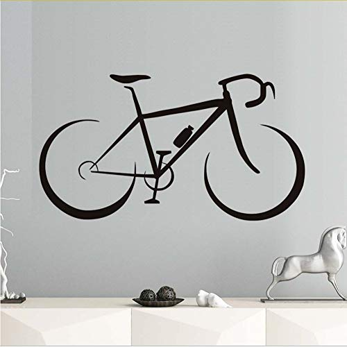 Kreative modische fahrrad wandaufkleber kinderzimmer vinyl abnehmbare diy selbstklebende tapete wohnkultur wasserdichte kunst aufkleber 44 * 78 cm