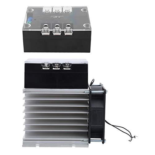 Accesorios de motor Módulo de arranque de motor Trifásico TSR-80WA-R1 (8KW) 50-60HZ Controlador de motor para máquina industrial(Module + radiator)
