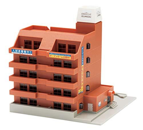 TOMIX Nゲージ マンションブラウン 4234 ジオラマ用品
