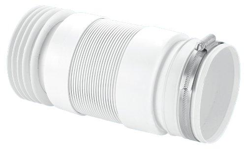 Cabinetsforbathrooms McAlpine WC, für Rücken an Wand WC toiletpans WC-F21R-Farbe: weiß