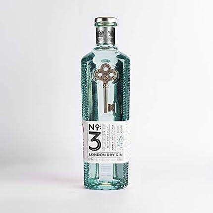 No. 3 London Dry Gin Ginebra - 700 ml