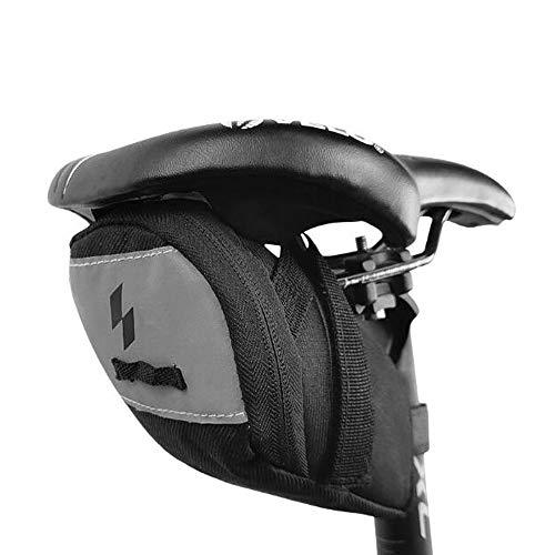 VOANZO Bike Saddle Bag Water Resistant Bicycle Under Seat Storage Pack Mountain Road Bike Tail Bag Bicycle Seat Storage Bags