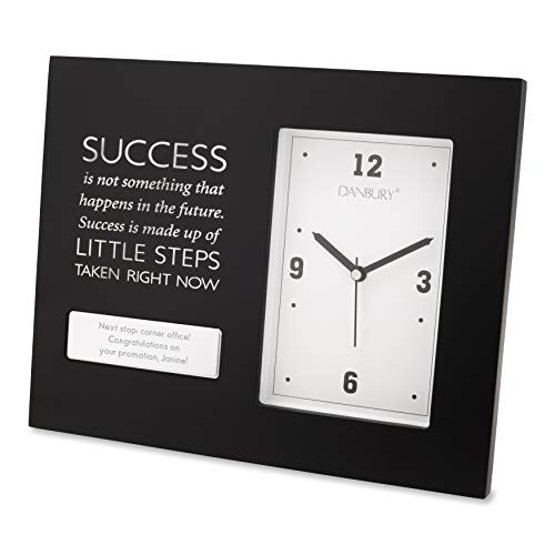 Things Remembered Personalized Success Clock with Engraving Included