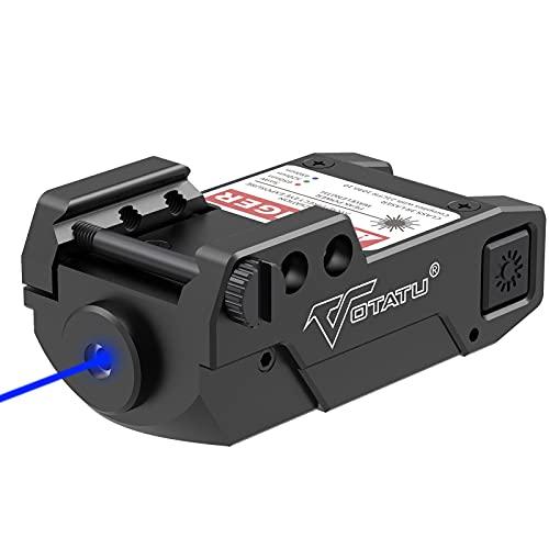 Votatu H3L-B Blue Laser Sight, Ultra Low Profile Blue Dot...