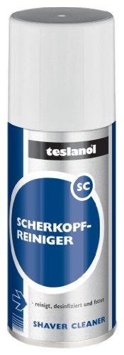 Teslanol 26050 Scherkopfreiniger zur Pflege elektrischer Rasierer