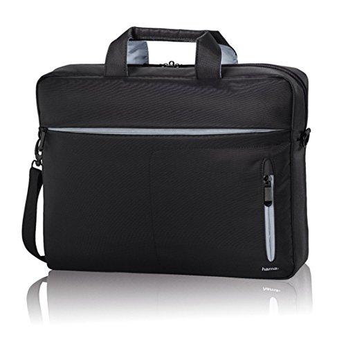 Hama Laptoptasche (Tasche für Laptop / Notebook bis 44 cm, (17,3 Zoll) ), Notebooktasche, schwarz/grau