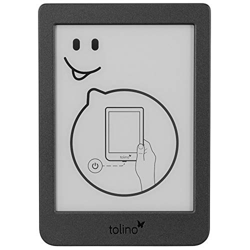Tolino Page 2 - Elektronisches Lesegerät, Schwarz