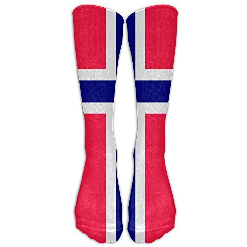 HVCMNVB Orthodox Norwegian Flag Unisex Funny Casual Athletic Warm Winter Crew Socks for Women for Men