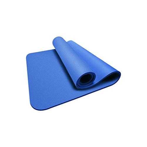 ZhaojDT Home decoratie, fitnessmat voor beginners, driedelige dikte, grote yogamat, antislip, regionale mat