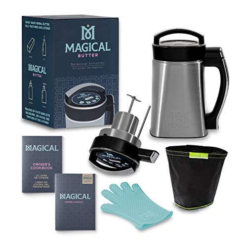 MAGICAL BUTTER MB2E Botanical Extractor Machine with Magical Butter official 7 page Cookbook
