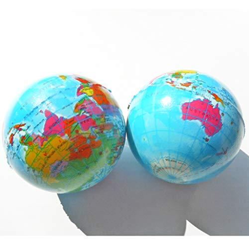 やわらかいミニ地球儀ボール 2個