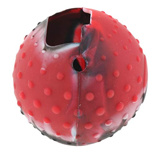 MERIGLARE Capa de Silicone para Switch Pokeball Plus Controller - Camuflagem Vermelho, Tamanho real