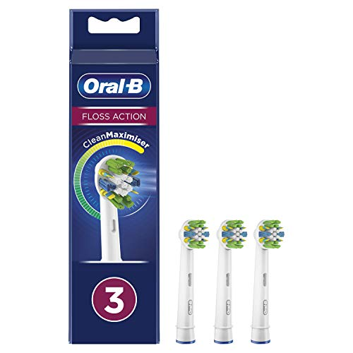 Oral-B FlossAction - Accesorio De Cepillo Con Tecnología CleanMaximiser - 3 Piezas