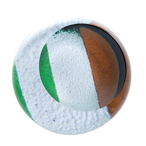 Caithness Glazen Vlaggen-Ierse Tricolour, Meerkleurig, One Size