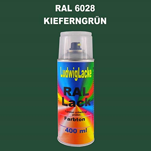 RAL 6028 KIEFERNGRÜN Seidenmatt 400 ml 1K Spray