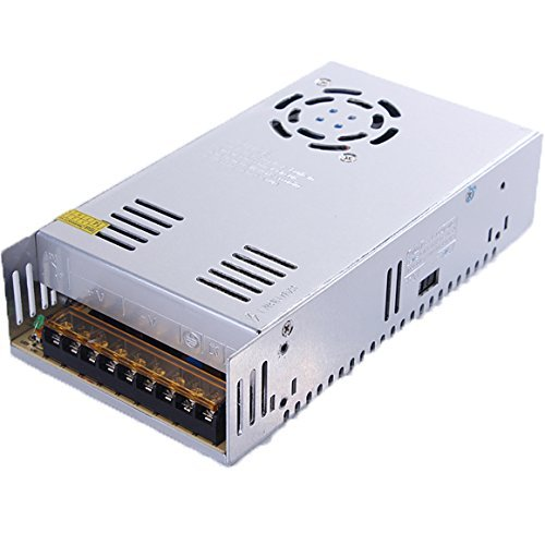 BMOUO 12V 30A DC Universal Regulated Switching Power Supply 360W for CCTV, Radio, Computer Project, LED Strip Lights, 3D Printer