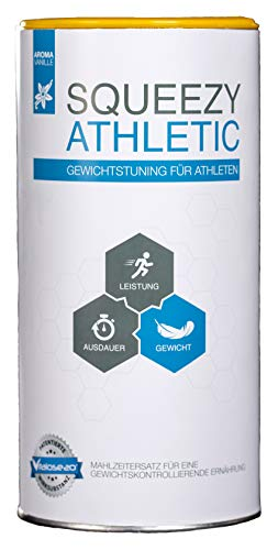 Squeezy Sports Nutrition Athletic 550-g-Dose, Vanille