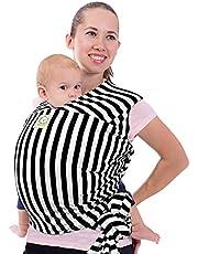 Nosidełko dla Niemowląt - Wszystko w 1 Rozciągliwa Chusta do Noszenia Dzieci - Ergo Chusta do Noszenia - Chusty do Nosidełek dla Noworodka, Dziecko