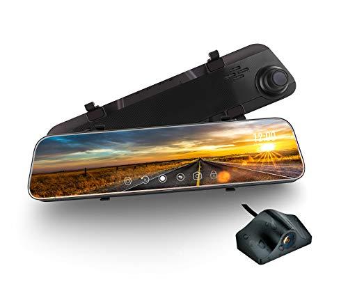 Mirror Dash Cam, weJupit 11.66 Inch Car Backup...