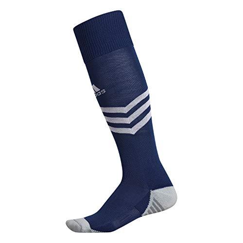 adidas Calcetín OTC unisex Mundial Zone Cushion OTC Sock-Team, Unisex Hombre, OTC Sock-Team, 977052, Azul Oscuro/Blanco/Onix Claro/Onix, Medium
