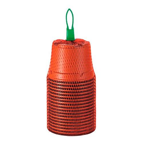 15x Pots en plastique ronds pour la culture Romberg (13cm)