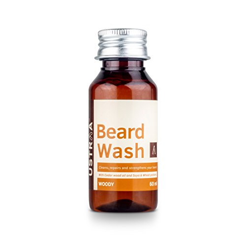 Ustraa Beard Wash for men new (60 ml)