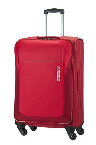 American Tourister Trolley San Francisco Spinner M 61 litri, Rosso