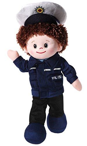 Heunec 475571 - Poupetta Polizist, blau