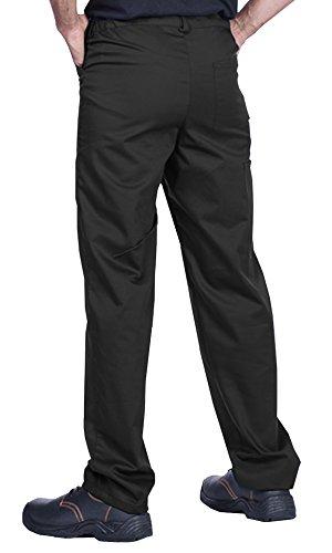 ProWear Herren Arbeitshose, Bundhose, Größen S-XXXL,Arbeitskleidung (S, schwarz) - 3