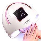 Crenova UV LED Nail Lamp, 72W 36 LEDs Professional Nail Dryer with Auto