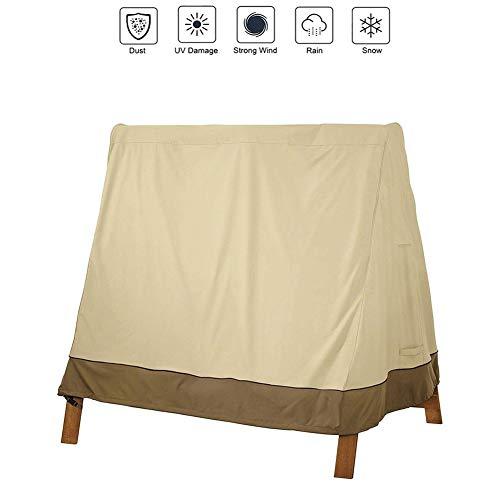 Funda for sillas de Columpio Silla de Exterior for Colgar en el Patio, Resistente al Agua Polvo, for jardín al Aire Libre Protectora Impermeable for Muebles (Color : 420D)