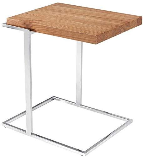 Mesa de centro Lateral del armario mesa de centro baja de madera mesa de sofá mesa auxiliar de madera de fresno plataforma de TV sala de estar familiar balcón del dormitorio mesas de sala de estar Tab