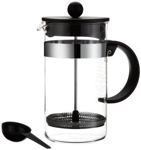 Bodum Bistro Nouveau cafetera eléctrica (sistema de prensa francesa, apta para lavavajillas, 1.0L/34oz)–negro by BODUM